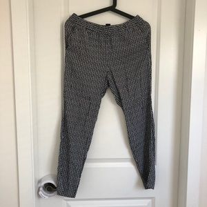 H&M Business Casual Harem Pants with Pockets